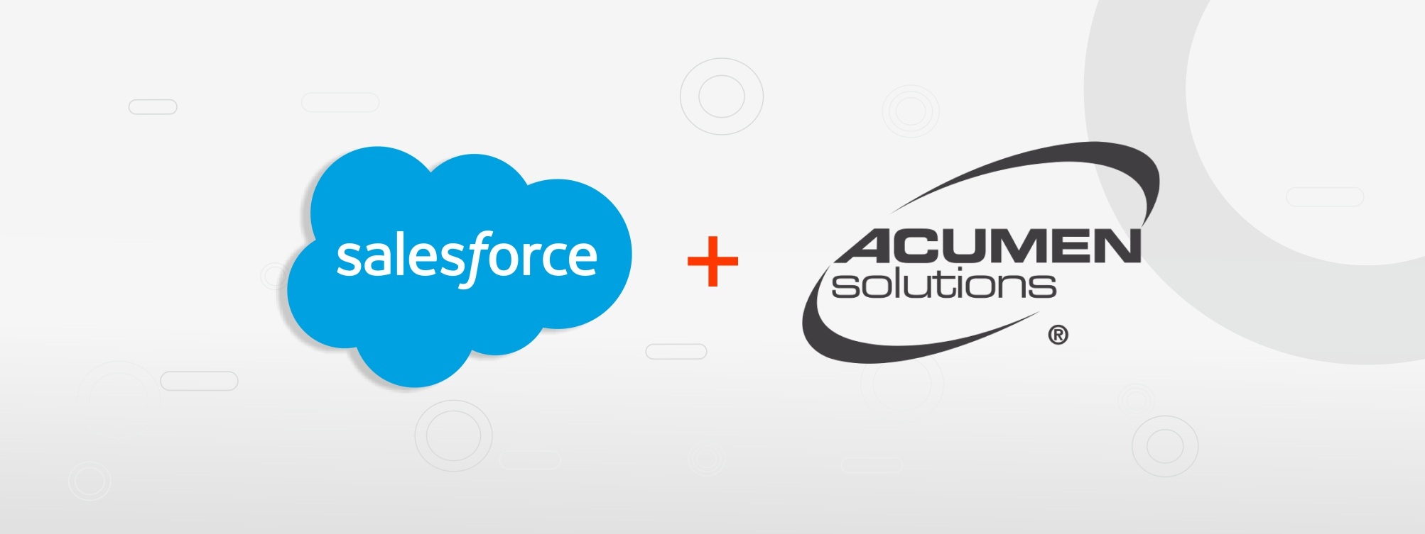 Salesforce Joins Hands With Acumen Solutions To Provide Extensive Professional Services